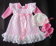 Todo para Crear ... : Vestido de beba