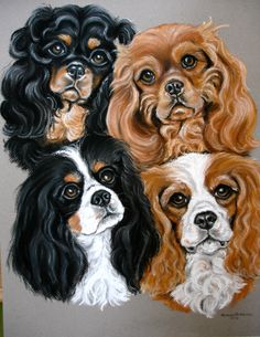 Four Cavaliers  Prints available