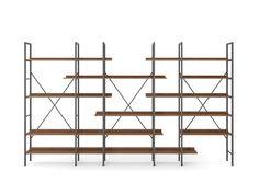 libreria ARCADIA design haftenstudio per zecchinon cucine