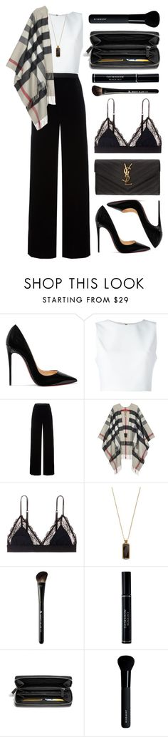 """""""In The Name Of Love"""" by chanelniall ❤ liked on Polyvore featuring Christian Louboutin, Alice + Olivia, T By Alexander Wang, Burberry, LoveStories, Vinaya, Beauty Is Life, Christian Dior, Coach and Givenchy"""