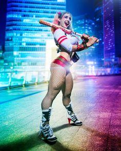 Character: Harley Quinn (Dr. Harleen Quinzel) / From: DC Comics & Warner Bros. Pictures 'Suicide Squad' / Cosplayer: Alyssa Loughran / Photo: Jeff Zoet Visuals (2016)