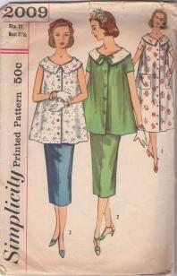 Vintage 1950's Maternity pattern