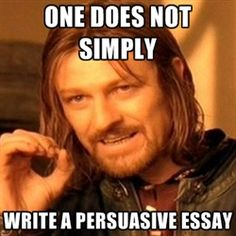 persuasive essay how to write