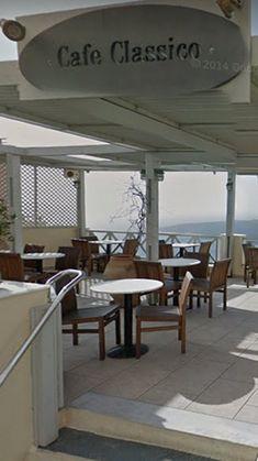 santorini | fira | cafe classico Santorini, Greece, Pergola, Outdoor Structures, Greece Country, Outdoor Pergola, Santorini Caldera