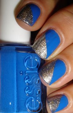blue nails for prom Blue Nail Designs Guide