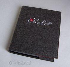 Gästemappe Ringbuch Wunschtext von Maultäschle auf DaWanda.com