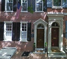 #Celebrity #Homes #Presidents - James Madison, America's fourth president, called a brick townhouse in Philadelphia's historic Society Hill area home.