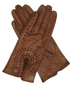 Leather Driving Gloves By Fratelli Orsini