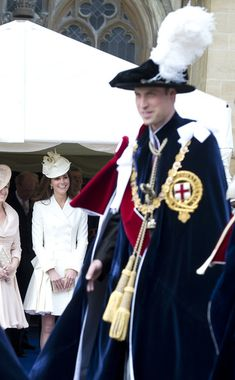 Kate Middleton Photo - Queen Elizabeth II and Members Of The Royal Family Attend The Order Of The Garter Service
