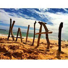 Beach on Kauai.