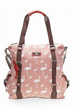 Next handbag #flamingos