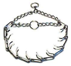 Prong Collar Metal Chrom Pinch Choke Stop Dog for training,FREE SHIPPING http://www.ebay.co.uk/itm/-/261998693087?roken=cUgayN via @eBay_UK
