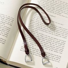 Stirrup Bookmark - Western Wear, Equestrian Inspired Clothing, Jewelry, Home D& Gifts Equestrian Gifts, Equestrian Outfits, Equestrian Style, Equestrian Fashion, Equestrian Jewelry, Gifts For Horse Lovers, Gift For Lover, Westerns, Stirrup Leathers