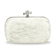 Libby Lace Wedding Clutch Bag