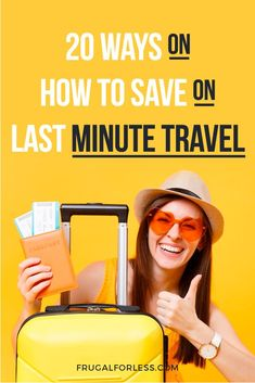 20 Ways on How To Save on Last Minute Travel Best Money Saving Tips, Money Tips, Saving Money, Budget Travel, Travel Tips, Cheap Travel, Travel Hacks, Travel Destinations, Save Money On Groceries
