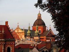 Setting sun - Saints Peter and Paul Church, Krakow