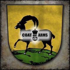 Almentz Family Shield - Swiss Coat of Arms