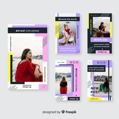 Frame Layout, Social Campaign, Free Stories, Typography Layout, Free Instagram, Instagram Story Template, Social Media Design, Graphic Design Posters, Social Media Graphics