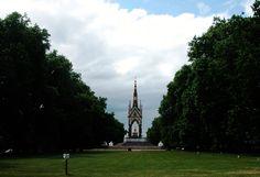 Albert Memorial Hyde Park  London UK June 2011