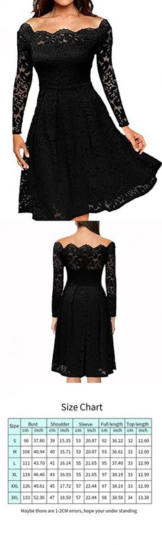 a33254e3a21 LITTLEPIG Women s Vintage Floral Lace Formal Dresses for Any Plus Size  Women Boat Neck Swing Cocktail