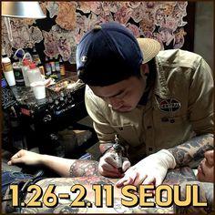 1월26일 부터 2월11일까지 서울 이태원에서 작업합니다~예약문의주세욥!!!영혼까지 끌어모아 작업해드림 Tattoo Station, Shop Interiors, Tattoo Shop, Korea, Instagram Posts, Fictional Characters, Shopping, Fantasy Characters, Korean
