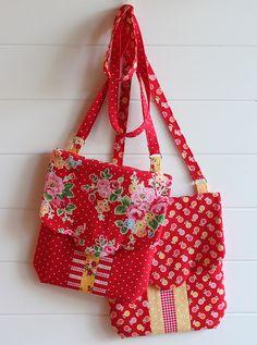 fat quarter bags | Flickr - Photo Sharing!