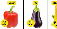 The Perfect Times toCook Tasty and Nutritious Vegetables