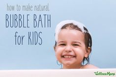Natural Bubble Bath Recipe for Kids Make bath time fun and healthy too! Skip the harmful chemicals in store-bought bubble bath and make your own DIY bubble bath recipe. Bubble Bath Homemade, Homemade Bubbles, Lip Scrub Homemade, Anti Aging, Essential Oils For Babies, Wellness Mama, Lush Bath Bombs, Diy Lotion, Bath Bomb Recipes