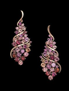 Cuvée Earrings reflect joy and abundance. This design features a vibrant assortment of tourmaline set in Adam's signature AlbaGold™️ with carats total weight of pavé set diamonds. Modern Jewelry, Jewelry Art, Antique Jewelry, Jewelry Accessories, Fine Jewelry, Jewelry Design, Tourmaline Jewelry, Gemstone Jewelry, Saphir Rose