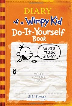 Diary of a Wimpy Kid Do-It-Yourself Book. he got this for a holiday one year, loved it :)
