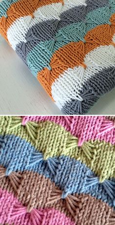 Knitting Pattern for Easy Treetops Baby Blanket - Striped baby blanket usin. Free Knitting Pattern for Easy Treetops Baby Blanket - Striped baby blanket usin. Free Knitting Pattern for Easy Treetops Baby Blanket - Striped baby blanket usin. Baby Knitting Patterns, Knitting Stitches, Free Knitting, Crochet Patterns, Blanket Patterns, Knitting Needles, Finger Knitting, Knitting Machine, Loom Knitting