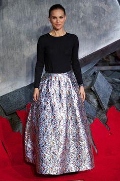 Natalie Portman: Adoring in silver~
