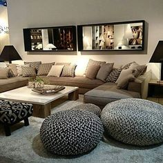 Furniture from the Belgian PH Collection, exhibited at the Maison & Objet fair in Paris. Living Room Decor Cozy, Small Living Rooms, Living Room Sets, Interior Design Living Room, Home And Living, Living Room Designs, Living Room Furniture, Living Room Remodel, Home And Deco