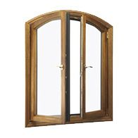 In-swing French casement windows feature two sashes that pull open into your room, instead of swinging out and into your outdoor space. Unlike standard 2-wide casement windows, this style provides a completely unobstructed view.