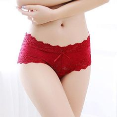 2d7785bdf3 BEFORW Lace Sexy Panties Temptation Panties Women Low Waist Jacquard Panty  Smealess Breathable Shorts Women Comfortable