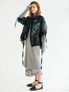 エンブロイダリードレスシャツ(シャツ)|FRAY I.D(フレイアイディー)|ファッション通販|ウサギオンライン公式通販サイト