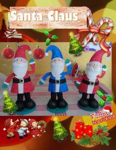 Fofucho Santa Claus paso a paso