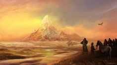 Erebor the lonely mountain by *Evolvana on deviantART // So I was climbing a…