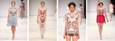 More Alice McCall SS 2012-2013! #Floral embroidery + #Colorful + #Accessories + #Print + #Transparent + #Crystal + #Fashion !!