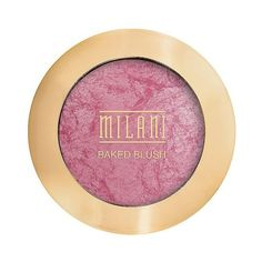 Milani Baked Blush - Dolce Pink (21.195 COP) ❤ liked on Polyvore featuring beauty products, makeup, cheek makeup, blush, beauty, dolce pink, matte blush, milani blush and pink blush