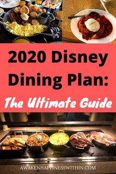 Learn everything you need to know about the 2020 #disneydiningplan, including #disneydining plan tips. #wdw #disneyworld #disney