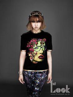 Minzy of 2NE1
