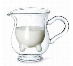Milk Jar. @Criatives.com.br #Design #GreatIdeas #Fun #Forthehome