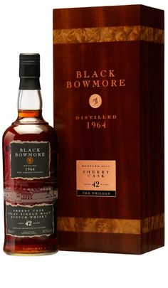 Bowmore Islay Single Malt Whisky On the eye almost ebony. Good Whiskey, Cigars And Whiskey, Scotch Whiskey, Whiskey Bottle, Bowmore Whisky, Bourbon, Whisky Bar, Single Malt Whisky, Wine And Liquor