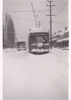 Corey Ave , Braddock,Pittsburgh,Pennsylvania - 1950 snowfall, 25 inches