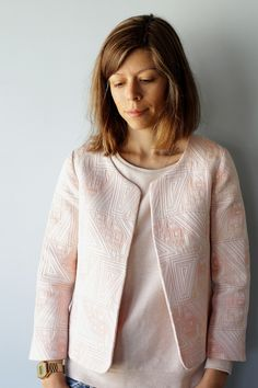 Schnittchen Coco jacket - In a manner of sewing