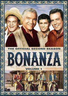 Lorne Greene & Michael Landon - Bonanza: The Official Second Season, Vol. Photo Vintage, Vintage Tv, Mejores Series Tv, Rent Movies, 1960s Movies, Bonanza Tv Show, Cinema Tv, Michael Landon, Tv Westerns
