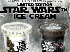 Brooklyn Ice Cream Shop will have 2 new Star Wars Themed Ice Cream Flavors!