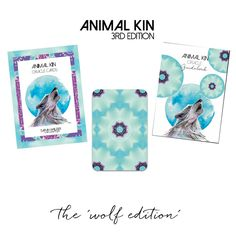 ANIMAL KIN ORACLE CARD DECK - 3RD EDITION
