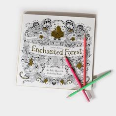 By Johanna Basford This Stunning New Coloring Book Takes Readers On An Inky Quest Through Enchanted Forest To Discover What Lies In